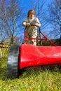 Spring mowing