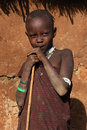 Young Masai sheperd Royalty Free Stock Photo