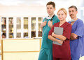Young medical team Royalty Free Stock Photo