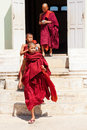 Young monks, Myanmar Royalty Free Stock Photo