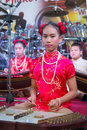 Young musicians on on a stage phuket thailand feb unidentified musician s play during annual old phuket town festival Stock Photography