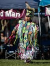 Young Native American Dancing Royalty Free Stock Photo