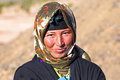 Young nomad woman in the desert sahara morocco october sahara morocco nomadic tribes living and a traditional Royalty Free Stock Photo
