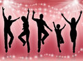 Young people dancing Royalty Free Stock Photo
