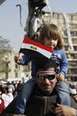 Young Rebel - Egyptian Revolution Stock Image