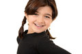 Young romanian girl Portrait Royalty Free Stock Photos