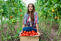 Young smiling agriculture women worker Royalty Free Stock Photo