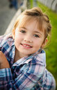 Young Smiling Girl - Outdoor Portrait Royalty Free Stock Photo