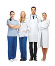 Young team or group of doctors healthcare and medical Royalty Free Stock Image