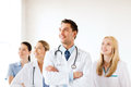 Young team or group of doctors healthcare and medical Stock Photography