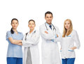 Young team or group of doctors healthcare and medicine concept Royalty Free Stock Photo