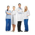 Young team or group of doctors picture Stock Images