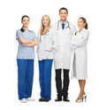 Young team or group of doctors picture Stock Photography