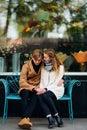 Teen couple date pure love romance true feelings Royalty Free Stock Photo