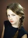 Young teenage girl portrait Royalty Free Stock Photo