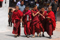 Young tibetan monks Royalty Free Stock Photography