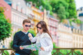 Young Tourist Couple Traveling...