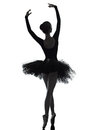 Young woman ballerina ballet dancer dancing Royalty Free Stock Photography