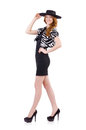 Young woman in fashion concept Royalty Free Stock Photography