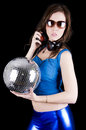 Young woman with headphone (7) Royalty Free Stock Image