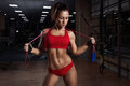 Young Woman, With Healthy Spor...