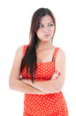 Young Woman Making Funny Face Royalty Free Stock Image