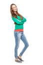 Young woman standing Royalty Free Stock Images