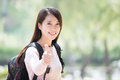 Young woman student smile Royalty Free Stock Photo