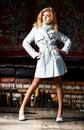 Young woman urban fashion Stock Photo