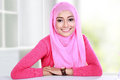 Young woman wearing hijab Royalty Free Stock Photo