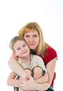 Young women and the son Royalty Free Stock Photo