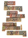 Your destiny and future concept Royalty Free Stock Photography