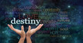 Your Destiny is in Your Hands Royalty Free Stock Photo
