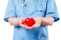 Your heart is in good hands. Royalty Free Stock Photo