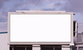 Your Message Here Blank City Billboard Sign Advertising Space Royalty Free Stock Photo