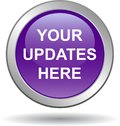 Your updates here web button Royalty Free Stock Photo