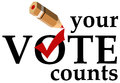 Your vote counts Royalty Free Stock Photo