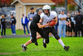 Youth American Football loose ball Royalty Free Stock Image