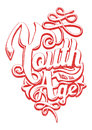 Youth has no age vector illustration ideal for printing on apparel clothes Stock Images
