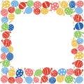 Yoyo balloon frame