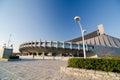 Yoyogi National Gymnasium in Harajuku, Tokyo, Japan Royalty Free Stock Photo