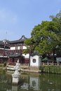 Yu garden in shanghai yuyuan located the southern part of is a famous classic it is characteristic of the architectural style Stock Photo