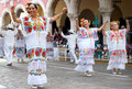 Yucatan Mexico Dancers Royalty Free Stock Photo