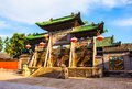 Yuci old town scene confucian temple shrine building taken in the historical chinese the is a city in shanxi china it is near the Royalty Free Stock Image