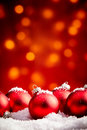 Yuletide Christmas background with copy space Royalty Free Stock Photo