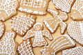 Yummy Christmas Ginger Bread Cookies Stock Photos