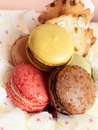 Yummy Macaroon Stock Images