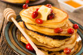Yummy pancakes Stock Images