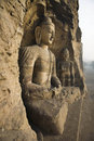 Yungang caves Royalty Free Stock Image