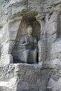 Yungang grottoes Buddha rock seated